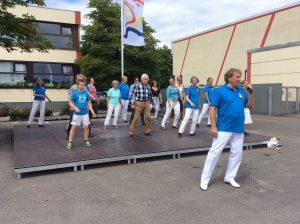 Line Dance Gruppe Josy Miolcic